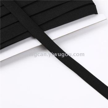 Spot black and white crochet elastic bands elastic waistband garment accessories