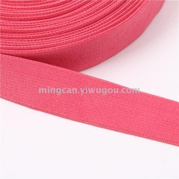 Solid color wrapping elastic bands Elastic webbing clothing accessories