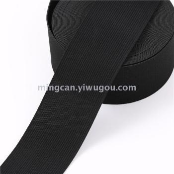 Spot black and white crochet elastic garment accessories