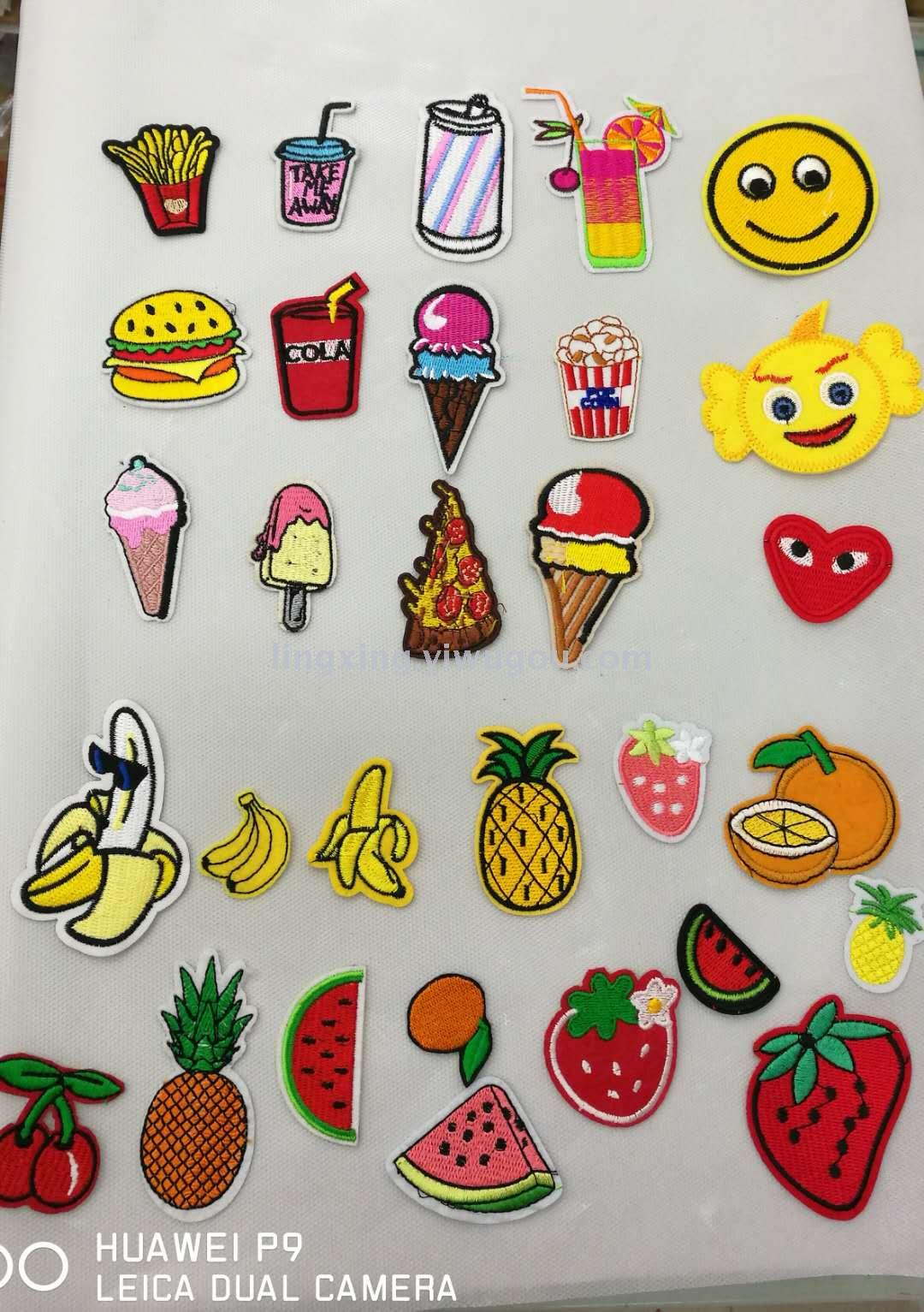 Supply Diy Computer Embroidery Patches Embroidered Fabric Stickers