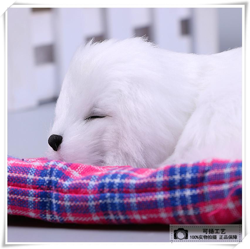 小狗沙发摆件精致动物仿真摆件工艺品摆件