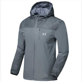 Fall/winter men's Hooded Coat thin Windbreakers young plus size tourism wind rain outdoors Andes