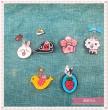 Korean hair ACC sells cute jewelry Darling children clip spring clip