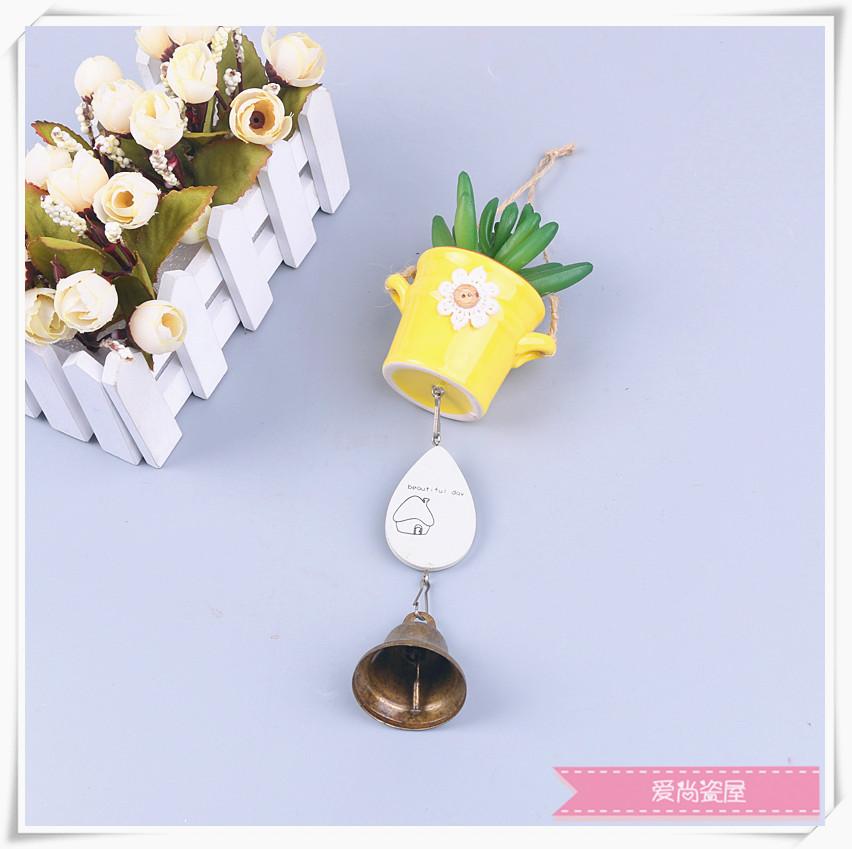 创意工艺品摆件陶瓷风铃摆件创意工艺品挂件