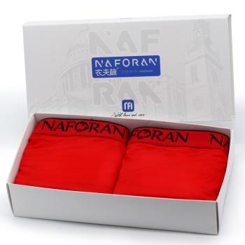 T6259 NAFORAN red children cotton underwear, boys cotton boxer wholesale