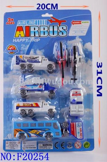 Baby toys educational toys for children series models of the space shuttle back to the airport