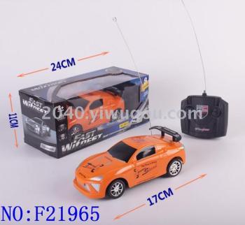 Four remote control car toy car remote control car boy children educational toys