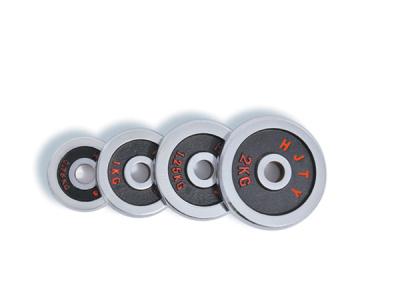 HJ-00095 multi-color electroplating hole barbell