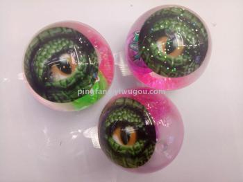 Quaint card eyes shine stretch crystal ball
