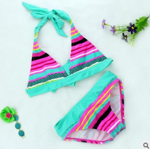 European and American foreign trade original single girl bikini swimsuit