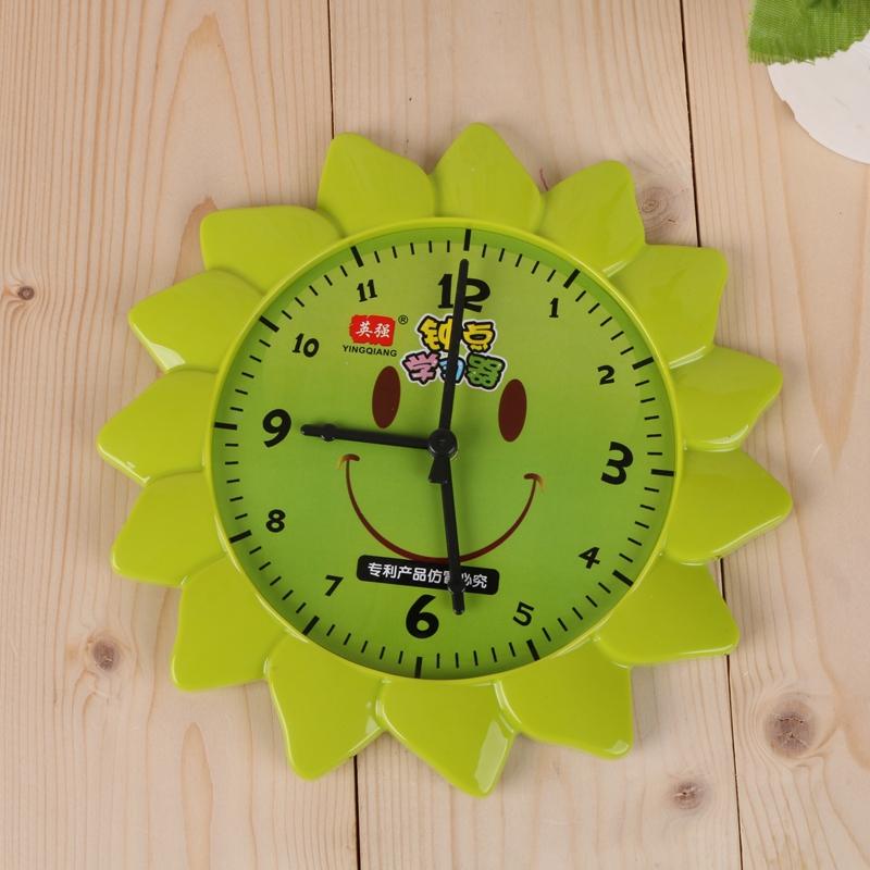 小学生认钟学 钟点学习器 时间钟表认识模具_博迪文具图片