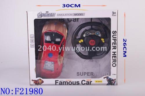 Batman vs Superman IV iron man toy car RC car boy children educational toys