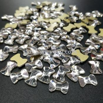 Abnormity glass flat diamond jewelry accessories wholesale factory direct