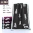 Cotton towel tree towel dark strands Elk towel man washcloth