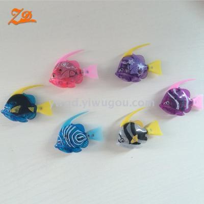 Electronic deep sea fish swimming fish transparent lights 6 electronic toys