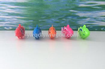 Electronic solid color clown fish swimming fish 5 electronic toys