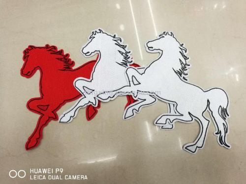 Embroidery cloth clothing patches stickers wild child jacket jeans hole Queen cartoon embroidery stickers