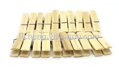 Bamboo grip bamboo sun drying clothes-pin clothes small sealing clips pantyhose clips-clips