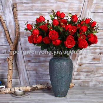 Single 3 friendship rose artificial flower flowers rose flowers