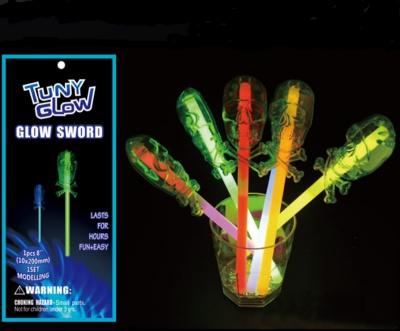 Light stick skeleton model magic wand Halloween children's toys