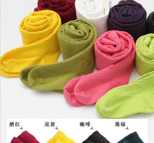 Spring and autumn children's wear new socks baby children tights girls leggings dancing socks stretch jeans wholesale