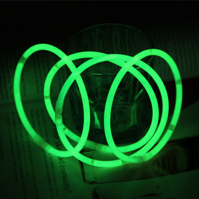5*280mm collar hardcover fluorescent bangles glow rod