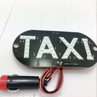 Supply LED driver taxi taxi TAXI lights lights lights car