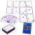 Foldover heavy SWISH card game logic puzzle exercise for children educational toys