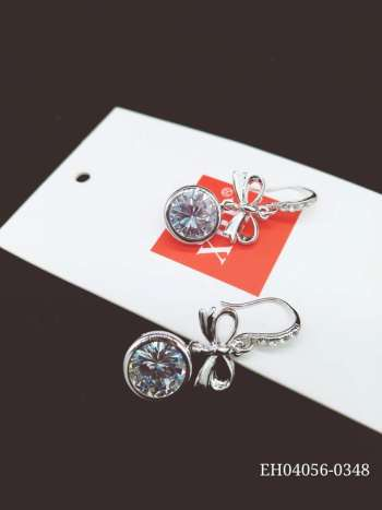Korean version of the popular zircon earrings