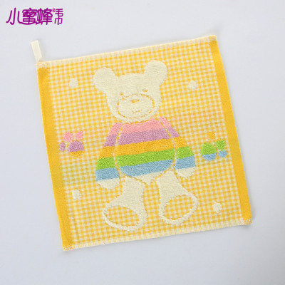 Burt's bees towel manufacturers selling Korean cartoon baby bear fabric and Terry towels