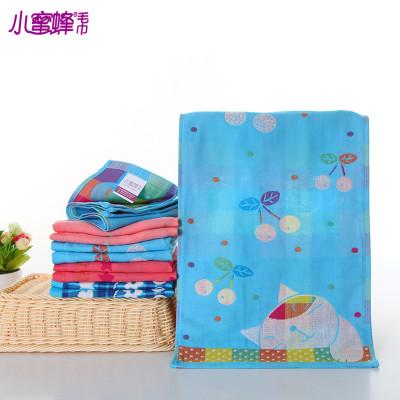 Factory direct double-sided Jacquard towel double gauze cotton gauze infant child gauze double child towels