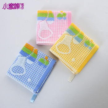 Burt's bees towel manufacturers selling Korean cartoon baby bear fabric and Terry towels