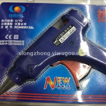 small glue gun with blue or green color for diy  factory sale