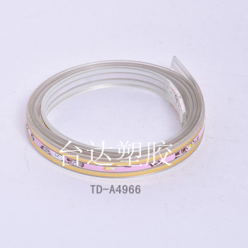 Plastic fashion jewelry colored silicone strap with plastic belt jelly bracelets with luminous