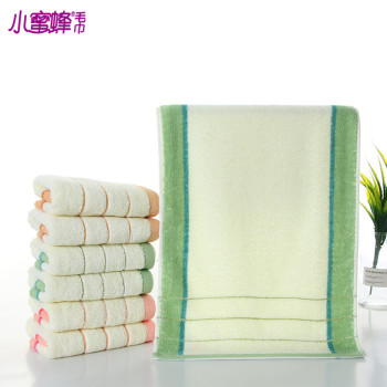 Cotton towels into a yarn cotton towel explosions small bees towel