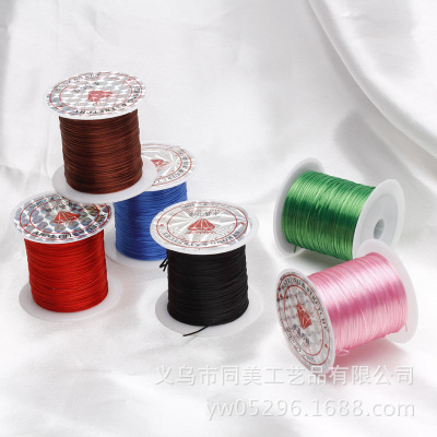 DIY Jewelry Accessories color Crystal bracelet beads crystals stretch cord large volume wholesale