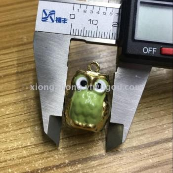 gold owl bell ,European export design