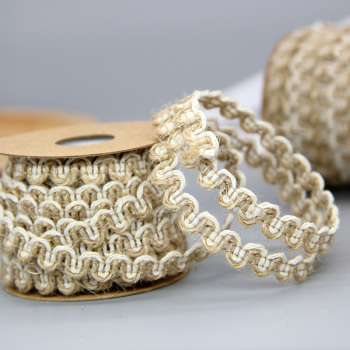 Rope lace crafts jewelry gift box decoration DIY woven rope braid