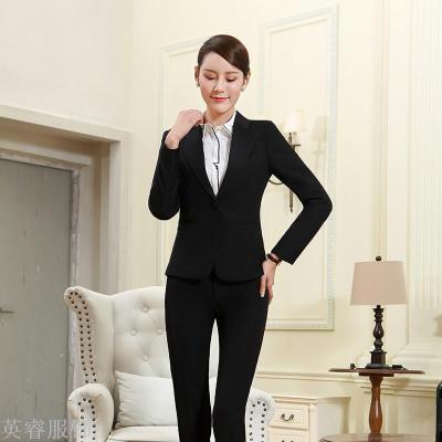 Supply New Fashion Professional Dress Suit Dresses Ol Overalls Woman