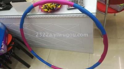 Hula hoop cotton Hula Hoop massage to receive abdominal thin waist hula hoop removable