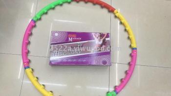 Hula hoop massage Hula Hoop massage to receive abdominal thin waist hula hoop removable