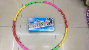 Hula hoop pulley Hula Hoop massage to collect abdominal thin waist hula hoop removable Home