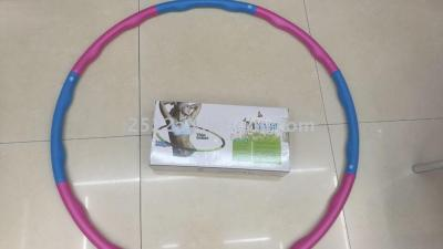Hula hoop cotton Hula Hoop massage to receive abdominal thin waist hula hoop removable