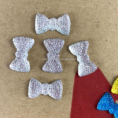 Resin jewelry accessories Mantianxing drill bow tie