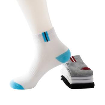The  autumn and winter the men's socks in the middle of the Tube socks movement anti-slip elastic socks