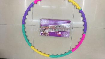 Hula Hoop blow plastic therapy Hula Hoop massage to receive abdominal thin waist hula hoop removable