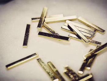 Japanese new nail metal ornaments manicure gold bar Long good quality