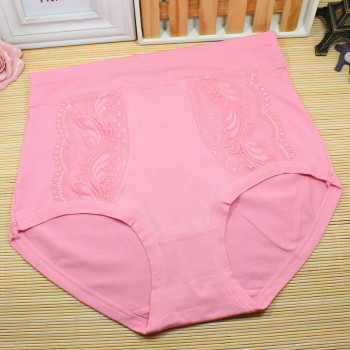 Ladies high waist underwear RC Cotton breathable factory Direct Sales 8374