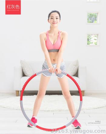 fingerprint hula hoop Hula hoop skinny waist female adult weight loss circle abdomen increase removable slim circle