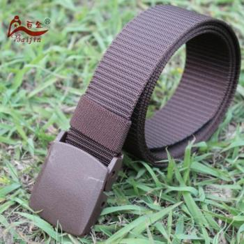 3.8cm Outdoor Belt Men Outside Tooling Belt with POM buckle